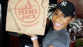 getlinkyoutube.com-TRADER JOE'S HAUL #4 ▸ VICKYLOGAN
