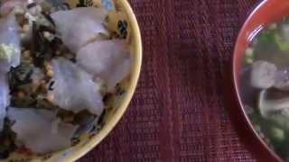 getlinkyoutube.com-和食の絶品料理「カワハギお茶づけ」の作り方ー鎌倉釣った魚をおいしく食べる法