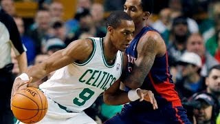 getlinkyoutube.com-Rajon Rondo 11 points,18 assists,0 turnovers vs Detroit Pistons 3/9/2014 - Full Highlights - [HD]