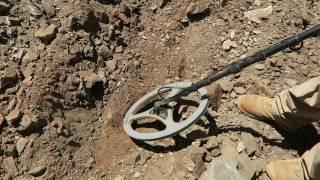 Gold Nugget Metal Detecting in Arizona With Minelab GP3000