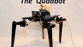 getlinkyoutube.com-How to build Quadruped Robot  / using an Arduino