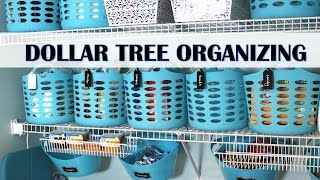 getlinkyoutube.com-DOLLAR TREE ORGANIZING MAKEOVER!  | Pantry & Laundry Room