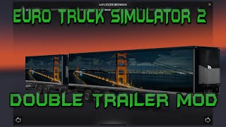 getlinkyoutube.com-Euro Truck Simulator 2: Double Trailer Mod[HD 1080p]