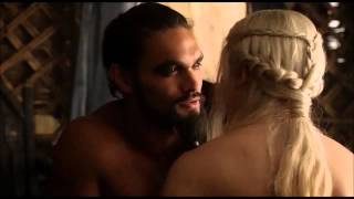 Game of Thrones-Daeneyrs and Khal Drogo