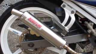 getlinkyoutube.com-NORIFUMI YAMAHA 125Z STAINLESS EXHAUST