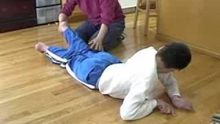 getlinkyoutube.com-Daniel on the floor - Severe Spastic Quad Cerebral Palsy teenager💜
