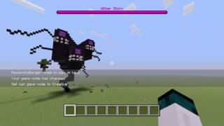 getlinkyoutube.com-Minecraft Ps4: Wither Storm Creation