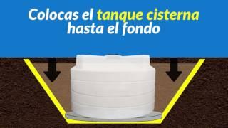 INSTALACIÓN DE TANQUE CISTERNA