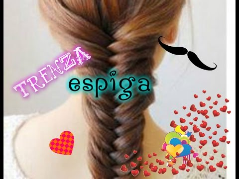 como hacer la trenza espiga -the stars yes...
