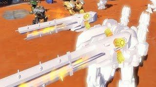 getlinkyoutube.com-War Robots [2.3] Test Server - NEW Heavy Prototype Robot Gameplay