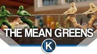 getlinkyoutube.com-The Mean Greens: Plastic Warfare   Army Men Battles!
