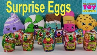 Yowie Chocolate Surprise Egg Opening Palooza | PSToyReviews