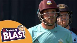 Magnificent Finch Hits 114 - Surrey v Sussex NatWest T20 Blast 2017