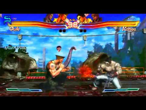 Street Fighter X Tekken - Gameplay Compilation [1080p HD]