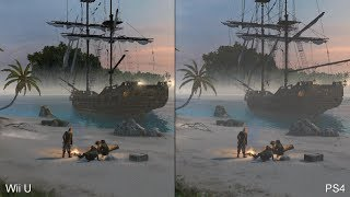 getlinkyoutube.com-Assassin's Creed 4: Wii U vs. PS4 Comparison