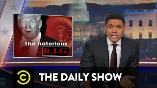 "getlinkyoutube.com-The Daily Show - Donald Trump's ""Rigged Election"" Talk"