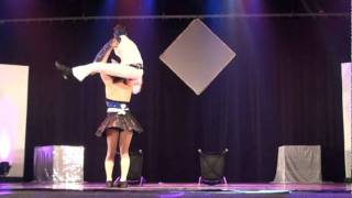 getlinkyoutube.com-Les Foutoukours Time of my life acrobatique