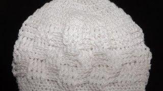 getlinkyoutube.com-Crochet gorrito para bebé recien nacido - con Ruby Stedman