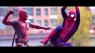 getlinkyoutube.com-Deadpool v Spider-Man:Official Trailer