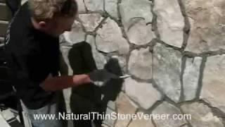 getlinkyoutube.com-Natural Stone Veneer Grouting