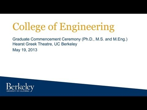 College of Engineering Graduate Commencement Ceremony