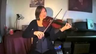 getlinkyoutube.com-Minor Swing, solos de Django Reinhardt et Stéphane Grappelli par Eva Slongo