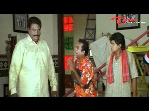Clock Comedy Scene Between Brahmanandam & Nagarjuna Gang