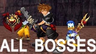 getlinkyoutube.com-Kingdom Hearts 2 Final Mix: All Bosses (PS3 1080p)