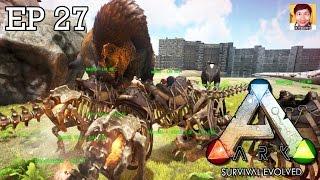 getlinkyoutube.com-ARK Survival Evolved EP27 : STRONG!! STRONG!! STRONG!! feat. DevilMeiji