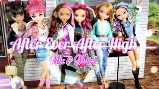 getlinkyoutube.com-DIY - Custom Doll: After Ever After High Mix & Match - Handmade - Doll - Crafts