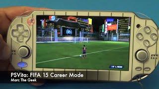 getlinkyoutube.com-PSVita: FIFA 15 Career Mode Hands On