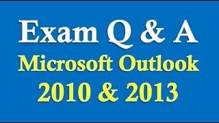 getlinkyoutube.com-Exam Prep Microsoft Outlook 2010/2013/2016