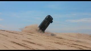 getlinkyoutube.com-Huge Crash and Flip at Silver Lake Sand Dunes
