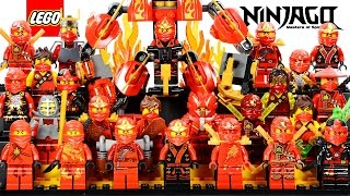 LEGO® Ninjago Kai the Red Ninja of Fire 2015 Minifigure Ultimate Collection