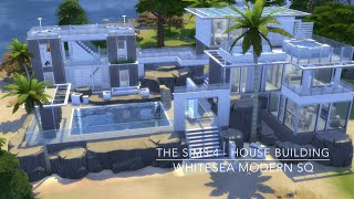 getlinkyoutube.com-The Sims 4 - House Building - Whitesea Modern SQ