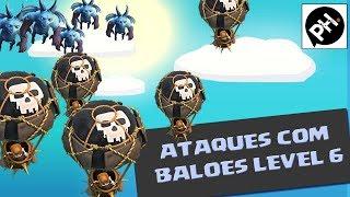 getlinkyoutube.com-Clash of Clans - Ataques com BALÃO 6