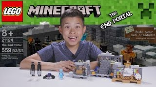 getlinkyoutube.com-LEGO MINECRAFT - Set 21124 THE END PORTAL - Unboxing, Review, Time-Lapse Build