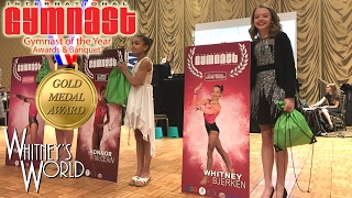getlinkyoutube.com-Gymnast of the Year Awards | Gold Medal Award Winner | Whitney Bjerken
