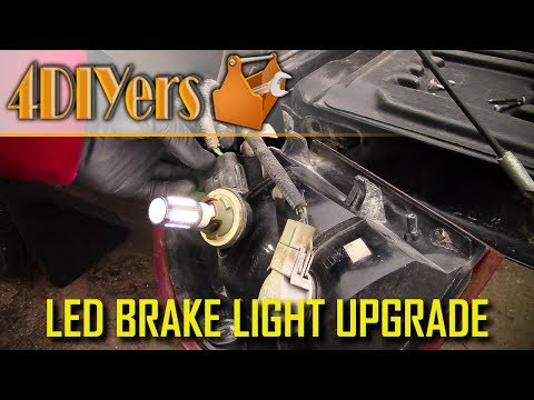 How to Upgrade Tail Lights or Brake Lights to LED with Comparisons
