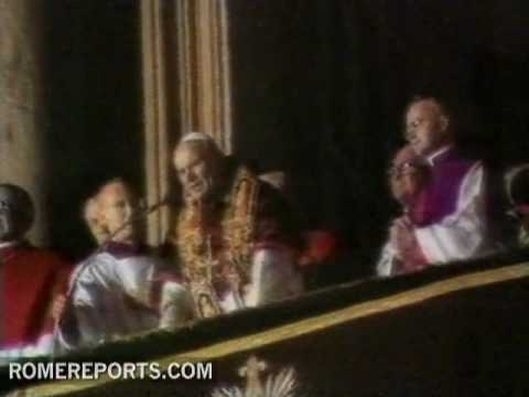 The election of John Paul II