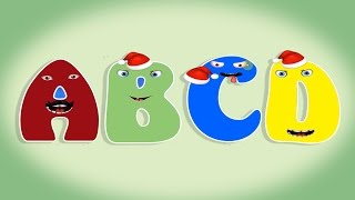 getlinkyoutube.com-Christmas ABC Song  Learn Letter ABCD to Z for kids with fun