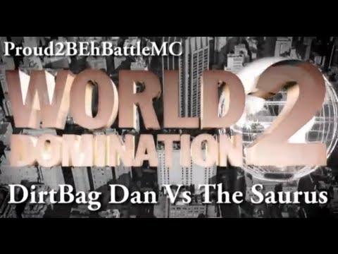 KOTD - The Saurus vs Dirtbag Dan (Proud2BEhBattleMC WD2)