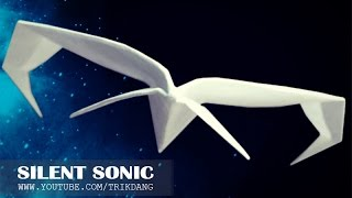 getlinkyoutube.com-Best Paper Planes: How to make a paper airplane that Flies FAST & STRAIGHT | Silent Sonic