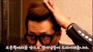 getlinkyoutube.com-[셀프 스타일] 남성 포마드 헤어 김우빈머리