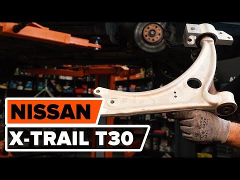 Как да сменим преден долен носач наNISSAN X-TRAIL T30 ИНСТРУКЦИЯ | AUTODOC