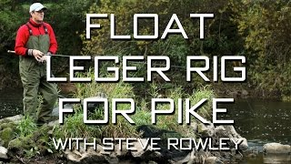 getlinkyoutube.com-Float Leger Rig For Pike With Steve Rowley