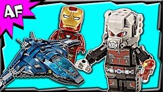 getlinkyoutube.com-Lego Civil War Super Hero Airport Battle 76051 Stop Motion Build Review