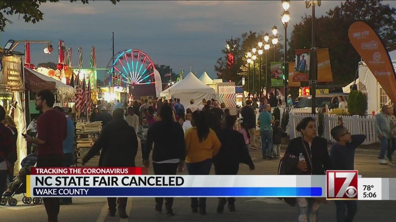 2020 North Carolina State Fair Canceled