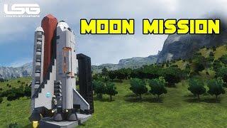 getlinkyoutube.com-Space Engineers - Moon Mission