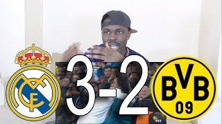 Barcelona Fan React to Real Madrid vs Borussia Dortmund 3-2 All Goals